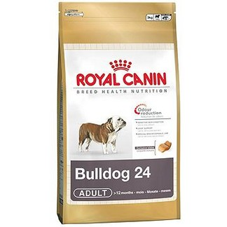 Royal Canin Bulldog 24 сухой корм для породы Бульдог [пакет 12кг]