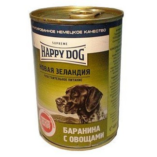 Happy Dog консервы для собак баранина с овощами [400г]