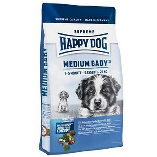 Happy Dog Supreme Junior Medium Baby 28 [пакет 10кг]